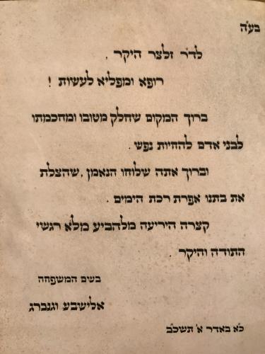 מכתב מאמה של פגית